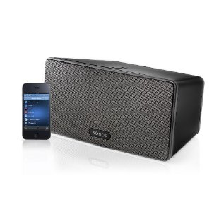 Sonos Play:3 All-In-One Player with 3 Integrated Speakers (Black)