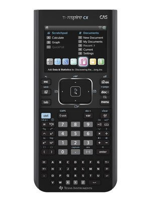 Texas Instruments Ti-Nspire CX CAS Graphing Calculator (N3CAS/CLM/2L1)