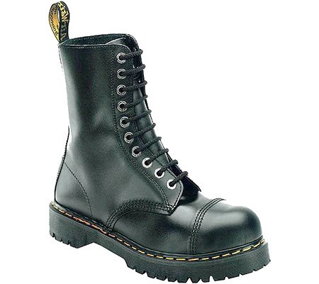 Dr. Martens 8761FH 10-Eyelet Cap Toe Boot (Fine Haircell 8761)