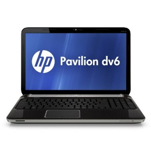 "HP Pavilion dv6-6110us 15.6"" Entertainment Notebook with Quad-Core A6-3400M, 640GB HD, Windows 7 Home Premium)"