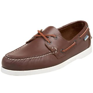 Sebago Docksides Men's Boat Shoes (Brown Elk)