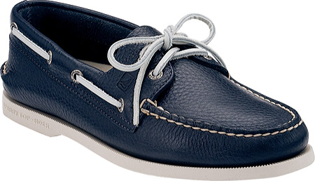 Sperry Top-Sider Authentic Original 2-Eye Boat Shoes (Navy)