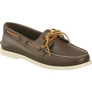 Sperry Top-Sider Authentic Original 2 Eye Boat Shoes (Classic Brown)