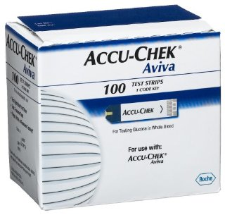 Accu-Chek Aviva Test Strips (Box of 100)