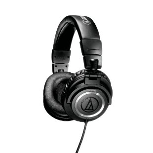 Audio-Technica ATH-M50S Studio Monitor Headphones