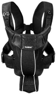 BabyBjorn Synergy Baby Carrier (Black, Mesh)