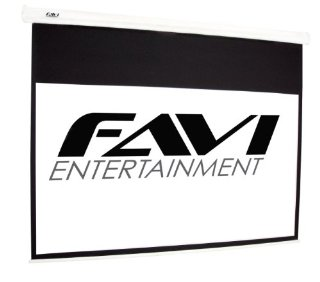 FAVI HD-120 Electronic Projection Screen (120, 16:9 Format)