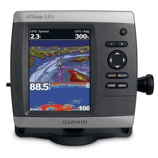 Garmin GPSmap 531s Marine GPS and Chartplotter with Dual Frequency Transducer (010-00761-01)
