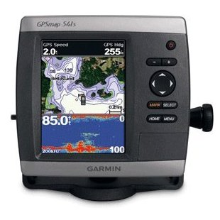 Garmin GPSmap 541s Marine GPS and Chartplotter with Dual Frequency Transducer (010-00762-01)