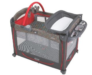 Graco Element Pack 'N Play Playard with Bassinet (color: Mickey)