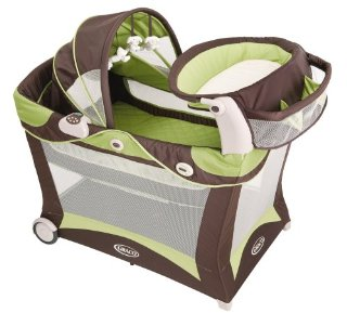 Graco Modern Pack 'N Play Playard with Bassinet and Changer (color: Zurich)