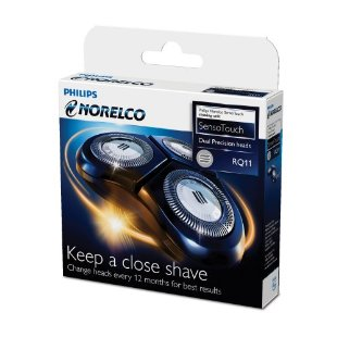 Philips Norelco RQ11 Replacement Heads (fits SensoTouch 2D shavers)
