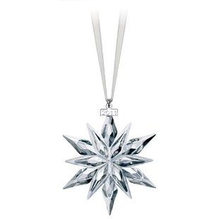Swarovski 2011 Annual Crystal Christmas Ornament (Large, # 1092037)