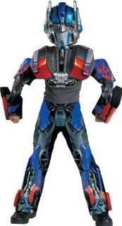 Transformers Optimus Prime Movie 3D Deluxe Child Halloween Costume (Small, fits ages 4-6)