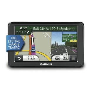 Garmin nuvi 2555LMT Advanced Series GPS with Lifetime Maps and Traffic (010-01002-29)