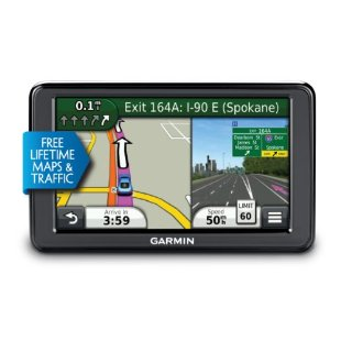 Garmin nuvi 2595LMT Advanced Series GPS with Lifetime Maps and Traffic (010-01002-01)