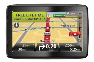 TomTom VIA 1435TM 4.3-Inch Portable Bluetooth GPS Navigator with Lifetime Traffic & Maps