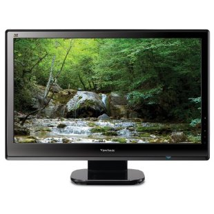 Viewsonic VX2453MH-LED 24 Ultra-thin Widescreen LED Monitor