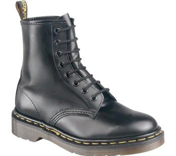 Dr. Martens Original 1460 DMC Leather Boots (Black Smooth)
