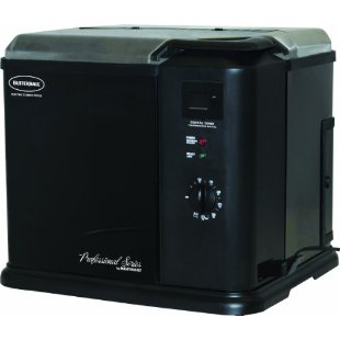 Butterball Professional Series Electric Indoor Turkey Fryer By Masterbuilt, Black (20010611)