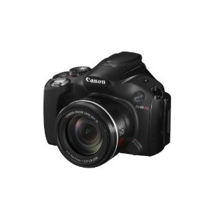 Canon Powershot SX40 HS 12.1MP Digital Camera with 35x Zoom