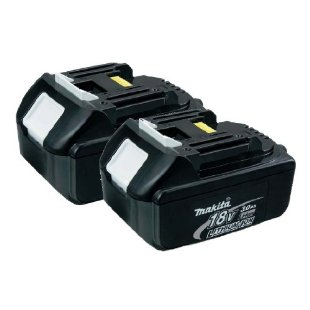 Makita BL1830-2 18-Volt 3.0 AH Battery, 2-Pack