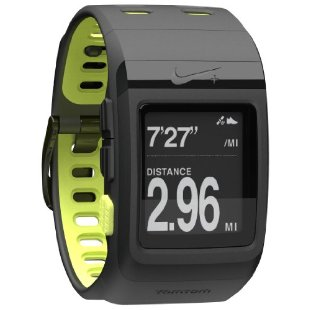 Nike+ SportWatch GPS powered by TomTom (Black/Yellow)
