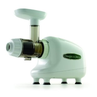 Omega 8003 Nutrition Center Commercial Masticating Juicer (White)
