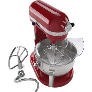 KitchenAid KP26M1XER Professional 600 Series 6-Quart Stand Mixer ( Empire Red)