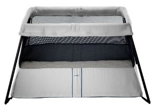 BabyBjorn Travel Crib Light 2 (Silver)