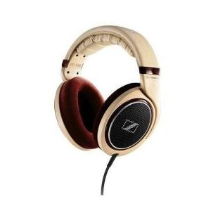 Sennheiser HD 598 Headphones (Burl Wood)