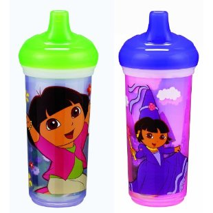 Munchkin Two Dora the Explorer 9 oz Big Kid Insulated Cup