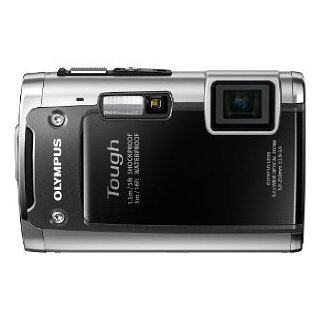 Olympus  Tough TG-610 Waterproof 14 MP Digital Camera with 5x Zoom (Black)