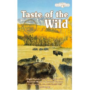Taste of the Wild Dry Dog Food, High Prairie Canine Formula with Roasted Bison & Roasted Venison (30-Pound Bag)
