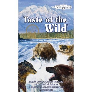 Taste of the Wild Pacific Stream Canine Formula with Smoked Salmon Dry Dog Food (30lb Bag)