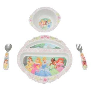 The First Years BPA Free Disney Princess Feeding Set 4-Piece