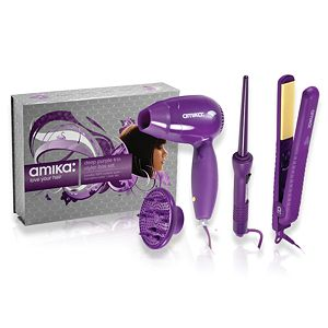 Amika Trio Set ($270 Value) (option: Deep Purple)