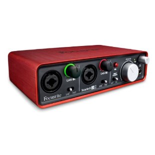 Focusrite Scarlett 2i2 Recording Audio Interface