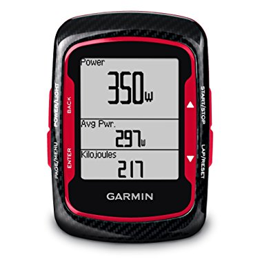 Garmin Edge 500 Red GPS Super Cycling Computer Bundle with Heart Rate Monitor, Cadence (010-00829-13)