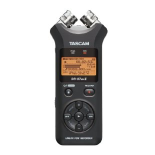 Tascam DR-07MKII Linear PCM Portable Digital Recorder