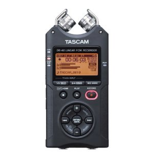 Tascam DR-40 Portable Linear PCM Digital Recorder
