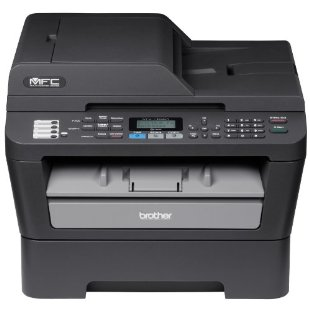 Brother MFC-7460DN Ethernet Monochrome Printer with Scanner, Copier & Fax