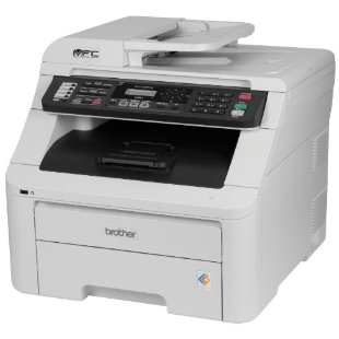Brother MFC-9325CW Wireless Color Printer with Scanner, Copier & Fax