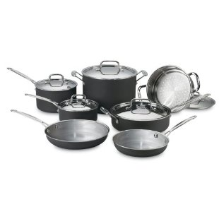 Cuisinart MCU-12 MultiClad Unlimited 12-Piece Cookware Set