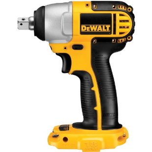 DeWalt DC820B 1/2 18-Volt Cordless Impact Wrench (Bare Tool Only, No Battery)