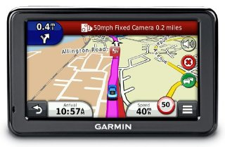 Garmin nuvi 2475LT GPS with Lifetime Traffic Updates, Bluetooth, and Maps of U.S., Canada, Mexico and Europe