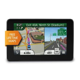 Garmin nuvi 3550LM Prestige Series GPS with Lifetime Map Updates and 5 Screen (010-00921-20)