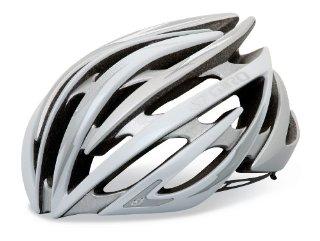 Giro Aeon Road Bike Helmet (White/Silver)