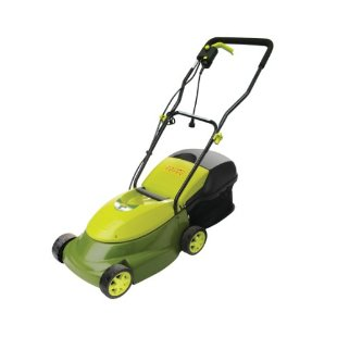 "Mow Joe MJ401E 14"" Electric Lawn Mower With Grass Bag"