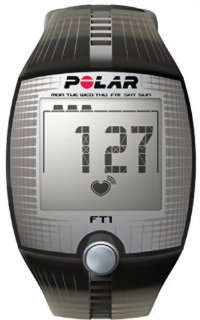 Polar FT1 Heart Rate Monitor (Black)